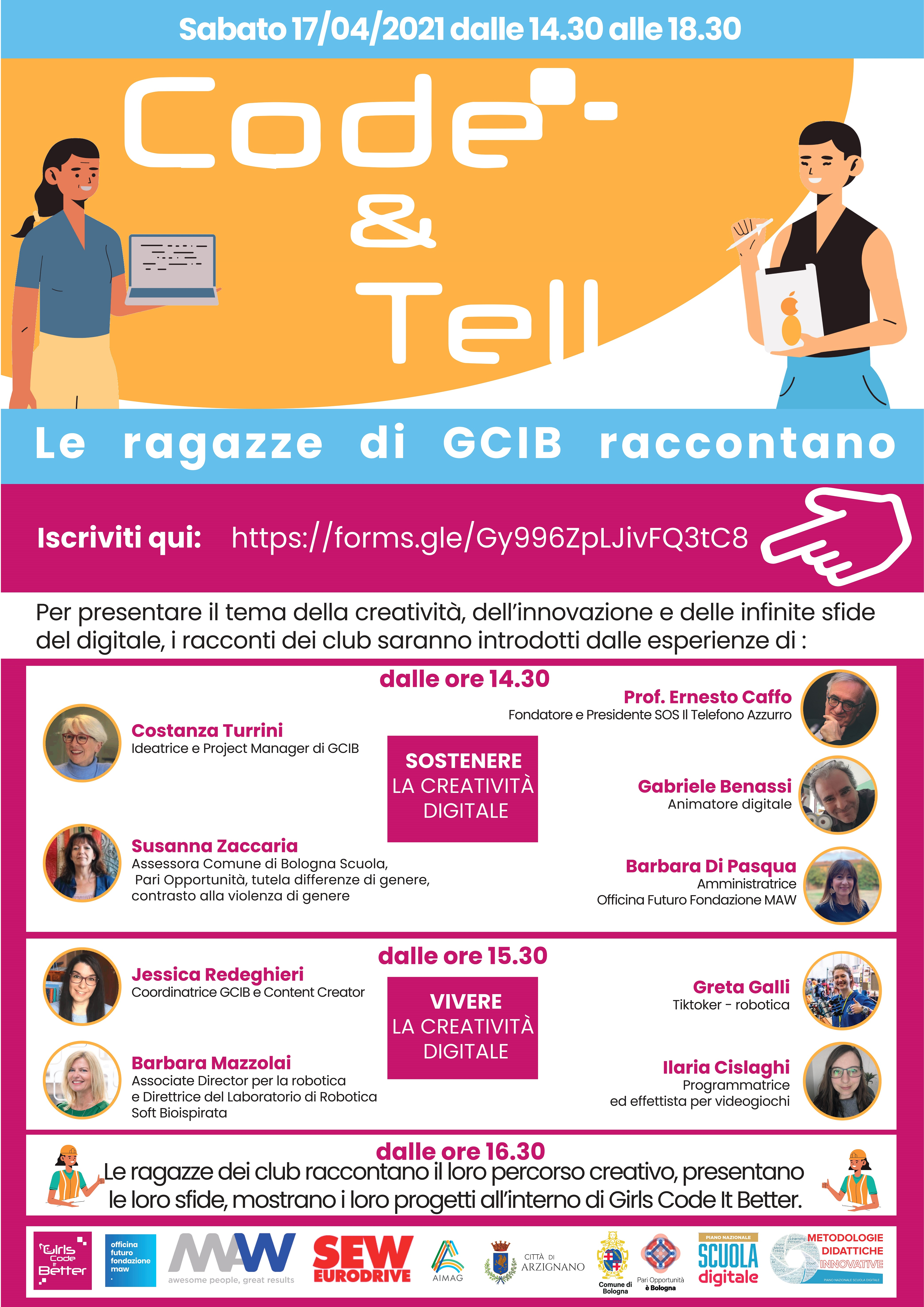 Locandina Code and tell