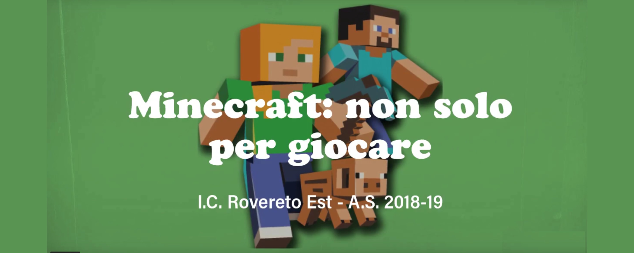 Progetto MineCraft Education